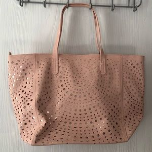 New Large Cutout Tote